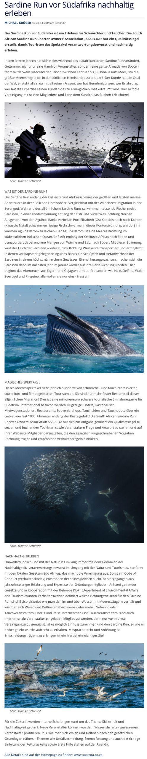 Tauchen July 2019